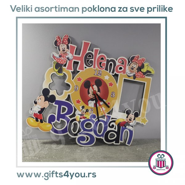 deciji-satovi-Dečiji sat - Mickey i Minnie mouse_7