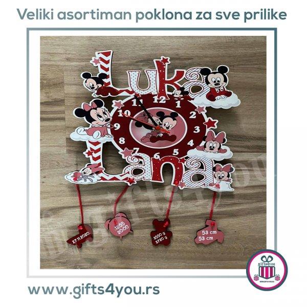 satovi-Dečiji sat - Baby Mickey i  Minnie_1