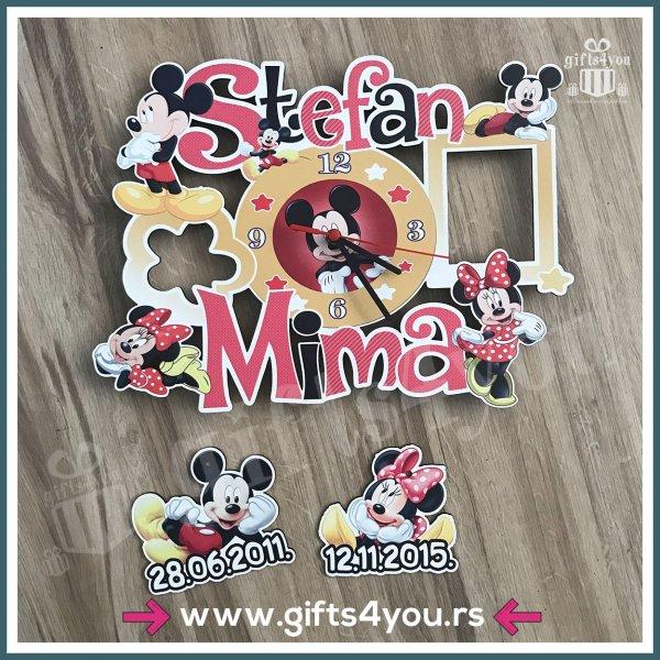 satovi-Dečiji sat - Mickey and Minnie mouse_3