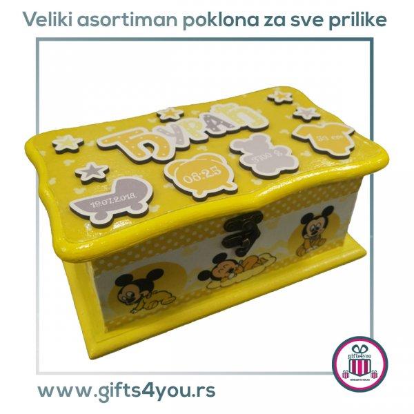 decije-drvene-kutije-Dečija drvena kutija - Mickey mouse_2