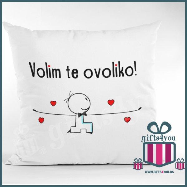 jastuci-Jastuk - Volim te ovoliko_6