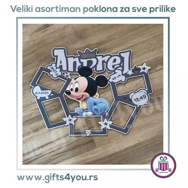 deciji-ramovi-Deciji Mickey sa vise ramova_1