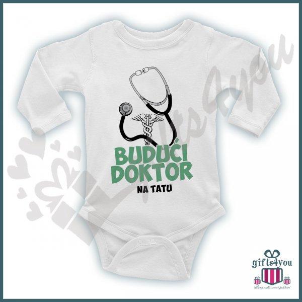 bodici-za-bebe-Budući doktor na tatu bodić_93
