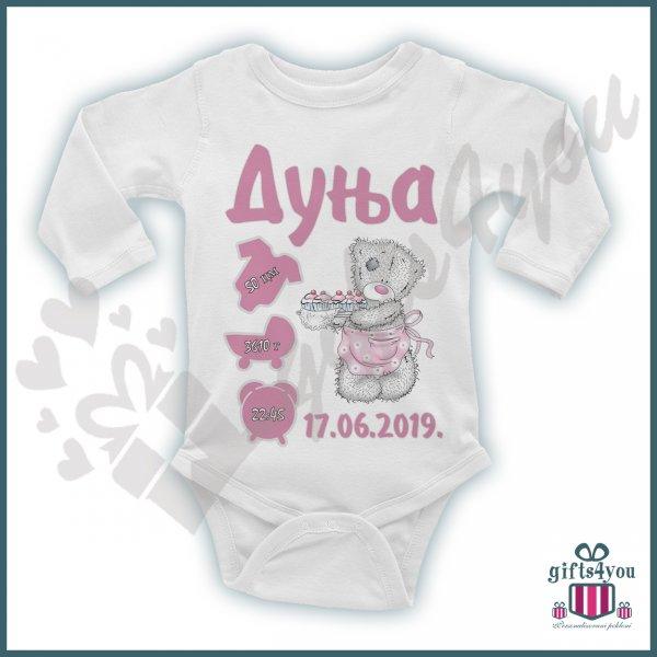 bodici-za-bebe-Medvedić bodić_104