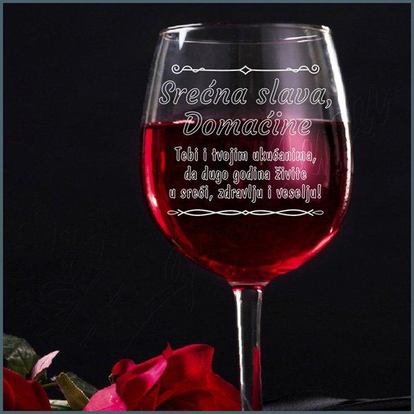 case-za-vino-Srećna slava domaćine čaša za vino_34