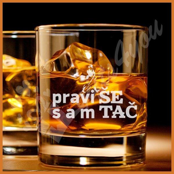 Pravi sam šetač čaše za viski