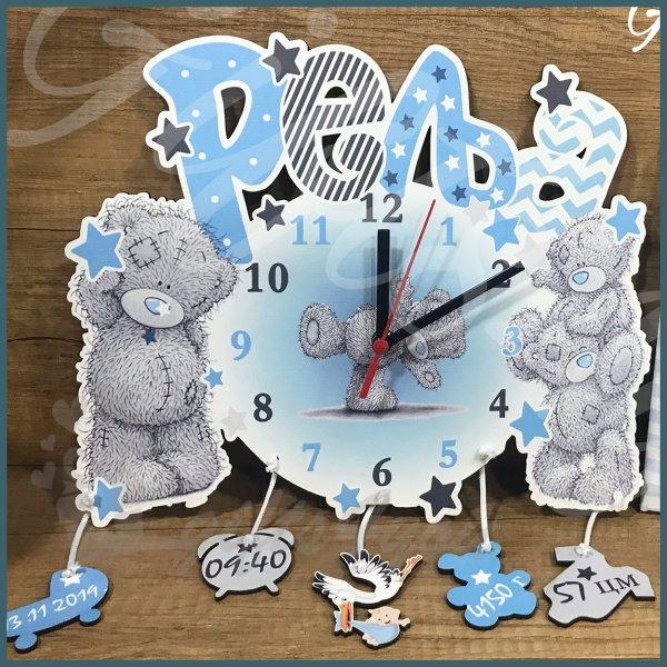 deciji-satovi-Plavi medvedići dečiji sat_31