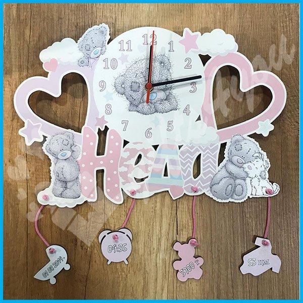 Dečiji sat - Teddy bear