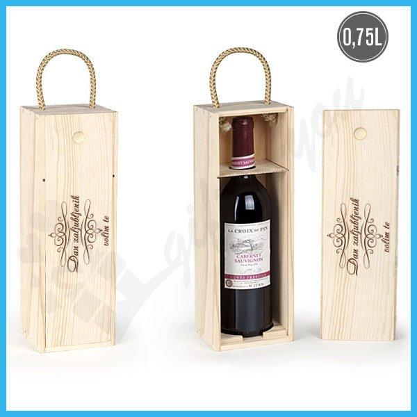 Dan zaljubljenih poklon kutija za vino