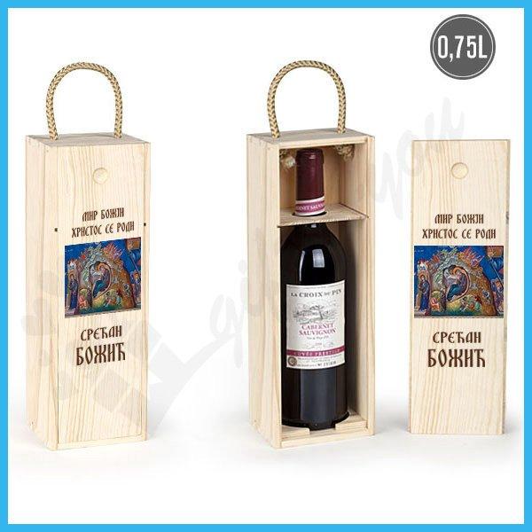 kutije-za-vino-Srećan božić poklon kutija za vino_14
