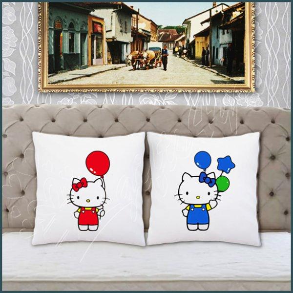 jastuci-za-parove-Hello Kitty jastuci za parove_3