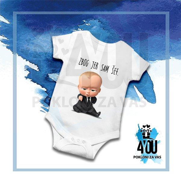 bodici-za-bebe-Zbog jer sam šef bodić_165