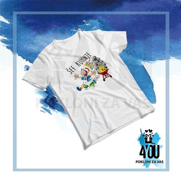 muske-majice-Šef kuhinje majica_156