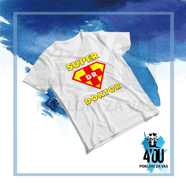 muske-majice-Super doktor majica_160