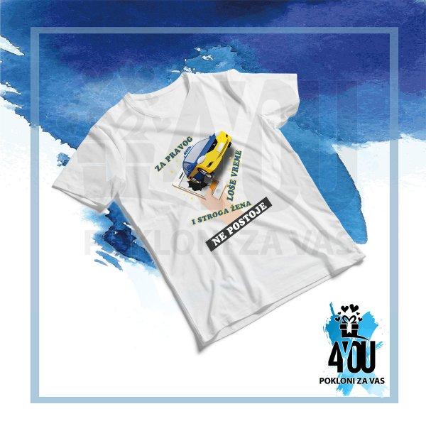 muske-majice-Za pravog taksistu loše vreme i stroga žena ne postoje majica_169