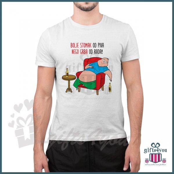muske-majice-Bolje stomak od piva nego grba od rada _19