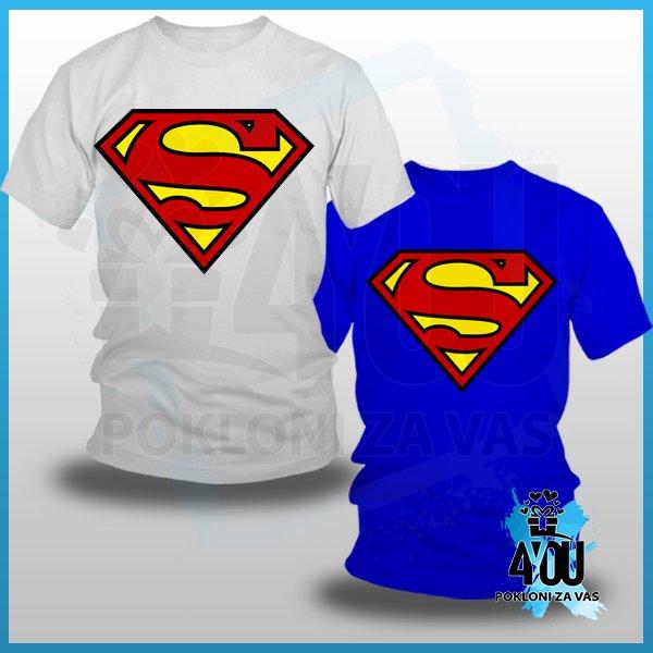 muske-majice-Superman logo majica_120