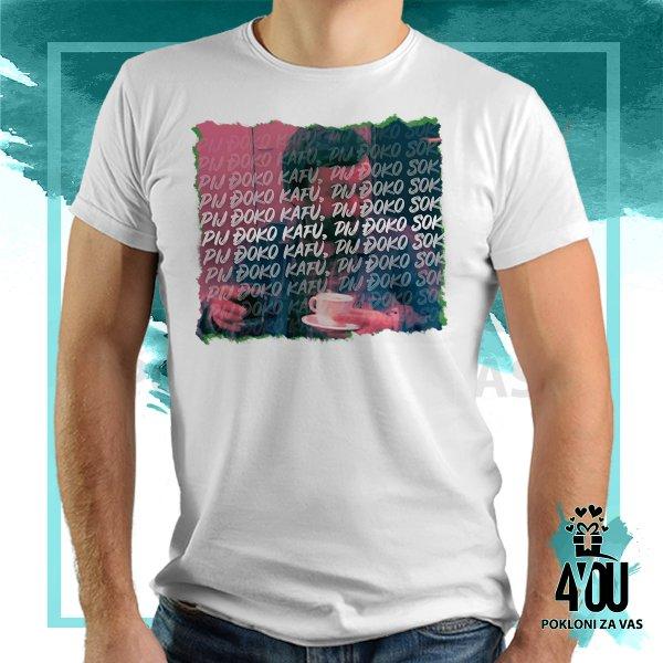 muske-majice-Pij đoko kafu majica_121