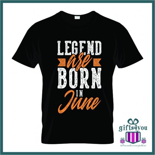 muske-majice-Legend are born in june majica_7