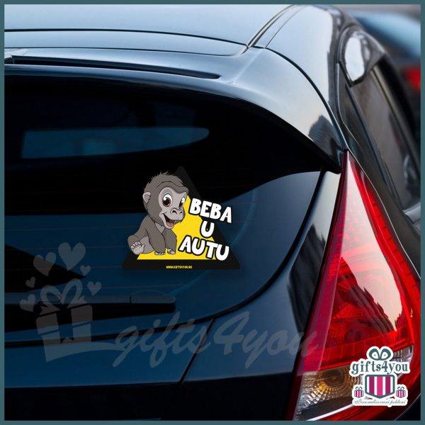 nalepnice-za-kola-Beba u autu sa majmunčićem_8
