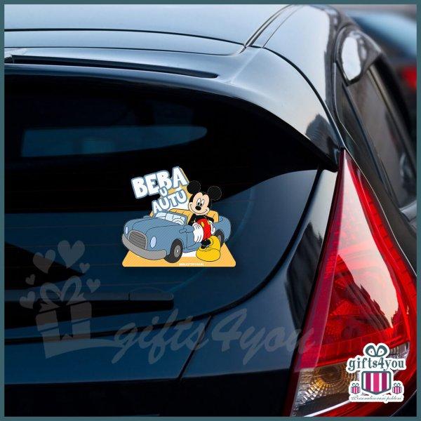 nalepnice-za-kola-Beba u autu - Mickey mouse_9