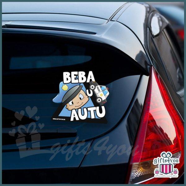 nalepnice-za-kola-Beba u autu - Policajac_15