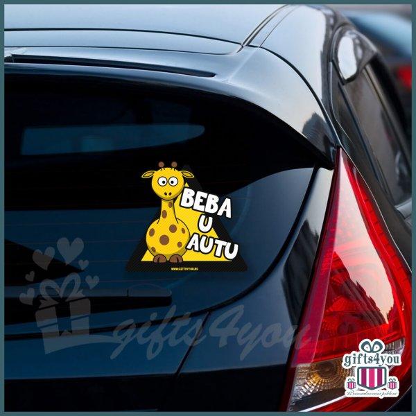 nalepnice-za-kola-Beba u autu - Žirafa_14