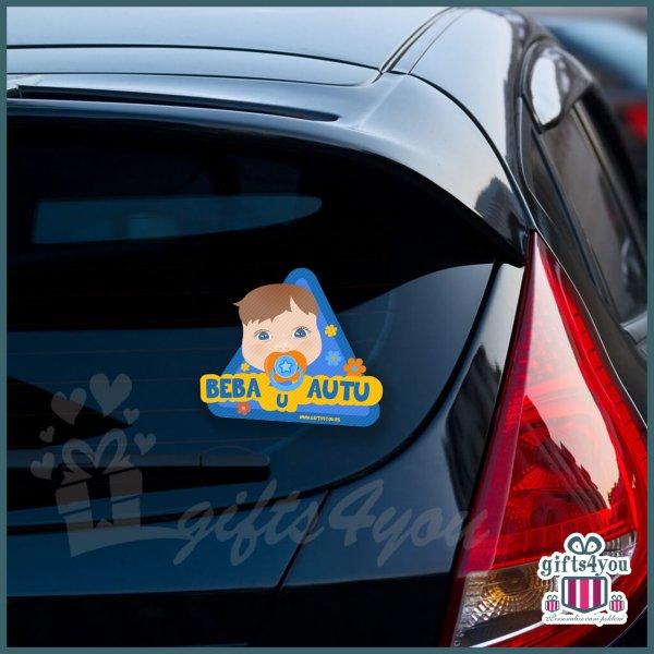 nalepnice-za-kola-Beba u autu - Plavo narandžasta_17