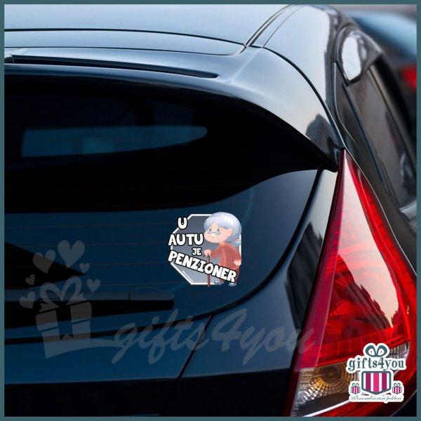 nalepnice-za-kola-U autu je penzioner - baka_23