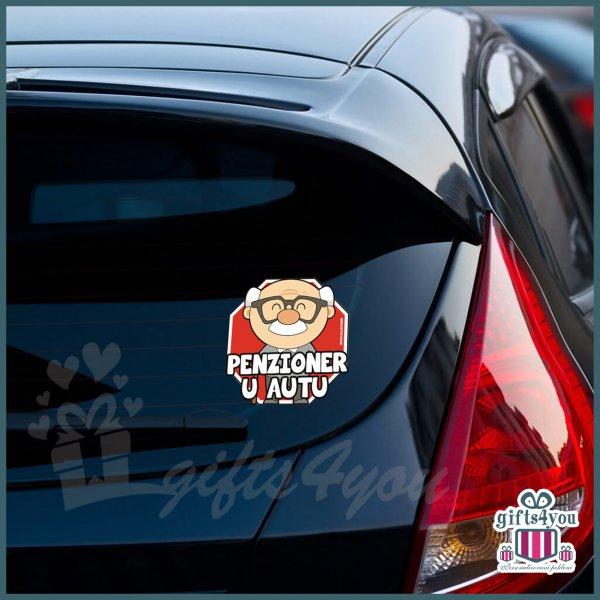 nalepnice-za-kola-Penzioner u autu - deka_21