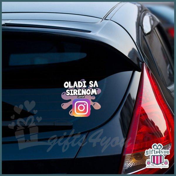 nalepnice-za-kola-Oladi sa sirenom listam instagram_4