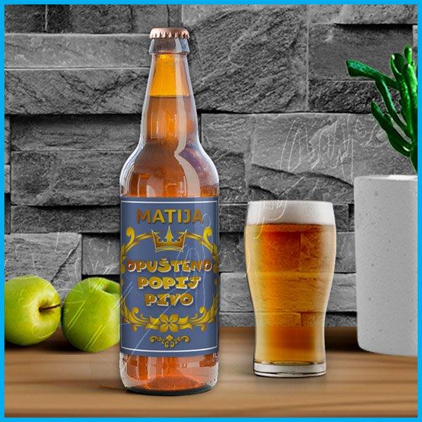 nalepnice-za-pivo-Nalepnica za pivo opušteno popij pivo_15