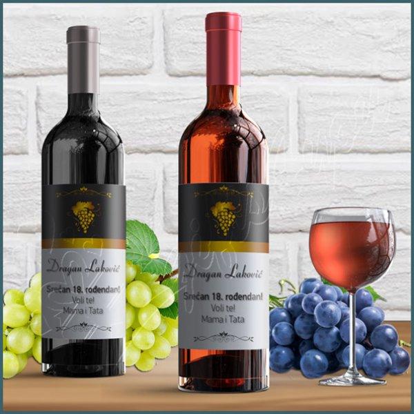 nalepnice-za-vino-Srećan rođendan nalepnica za vino_9