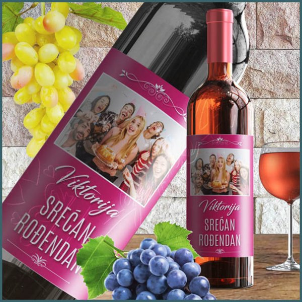 nalepnice-za-vino-Srećan rođendan nalepnica za vino_10