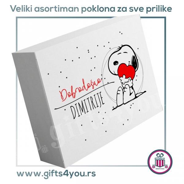 personalizovane-poklon-kutije-Personalizovana poklon kutija - Snoopy_1
