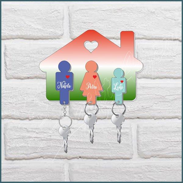 privesci-Privezak za ključeve porodični za 3 osobe_25