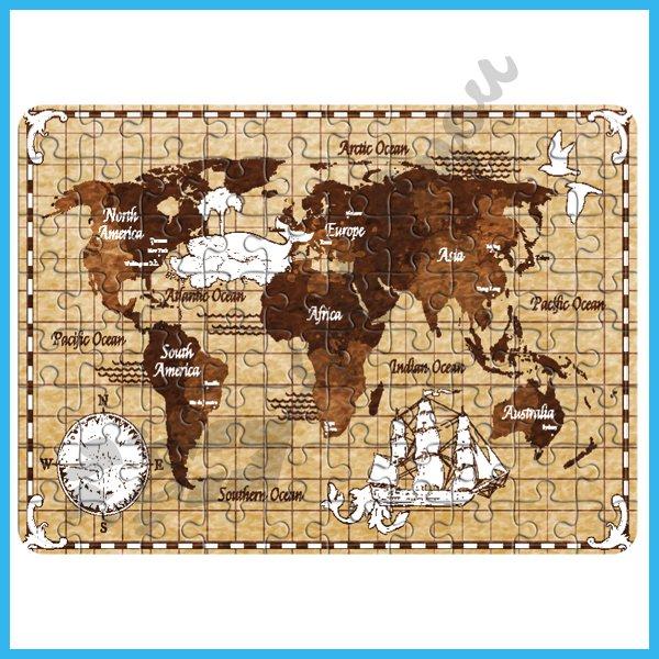 puzzle-Mapa sveta puzzle_17