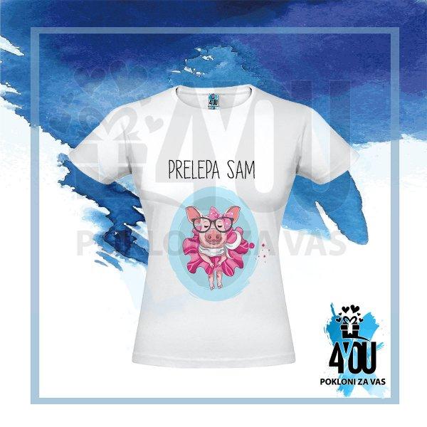 zenske-majice-Prelepa sam majica_60