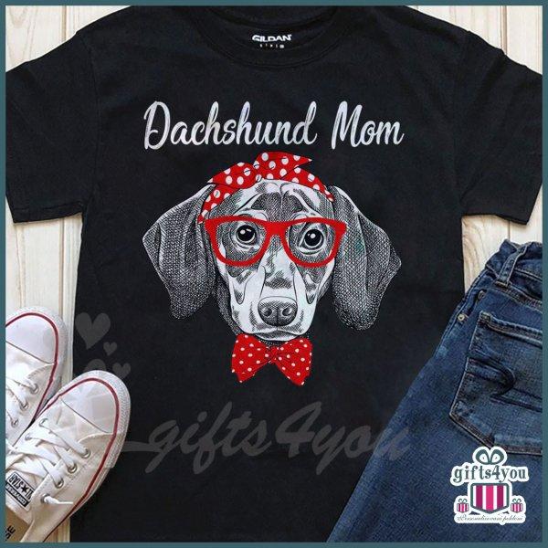 zenske-majice-Dachshund mom majica_29