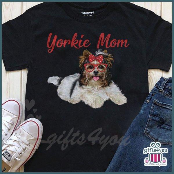 zenske-majice-Yorkie mom majica_6