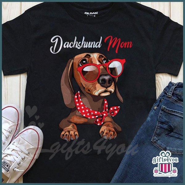 zenske-majice-Dachshund mom majica_8