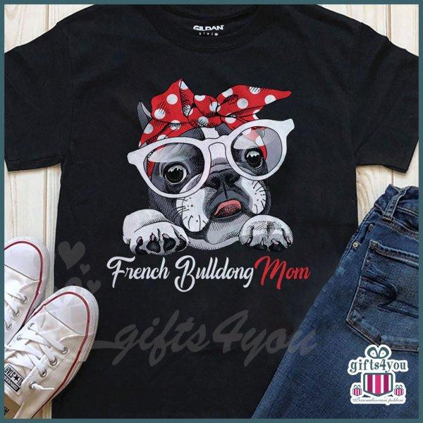 zenske-majice-French bulldog mom majica_31