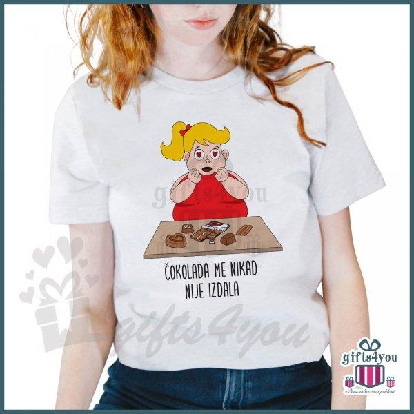 zenske-majice-Čokolada me nikad nije izdala majica _21